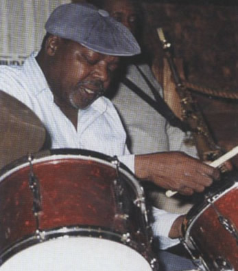Smokey Johnson (drums)